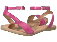 Born Arica Dark Pink Full Grain Women's Dress Sandals