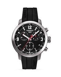 Tissot Prc 200 Men's Chronograph Quartz Sport Watch 41Mm Black Black
