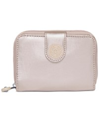 Kipling New Money Wallet Sparkly Gold
