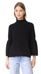 525 America Shaker Crop Sweater Black