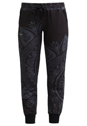 Desigual Tracksuit Bottoms Gris Metal Anthracite