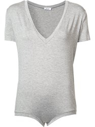 Alyx V Neck T Shirt Body Grey