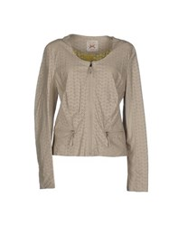 Gaudi' Coats And Jackets Jackets Women Beige