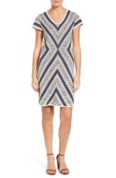 Nic Zoe Women's Spanish Stripe Sweater Dress