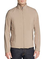 Allegri Layered Jacket And Vest Tan