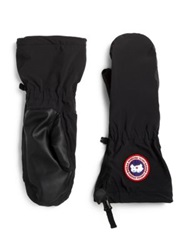 Canada Goose Timbers Puffer Mittens Black