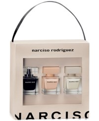Narciso Rodriguez 3 Pc. Gift Set Created For Macy's No Color