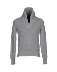 Replay Sweaters Light Grey