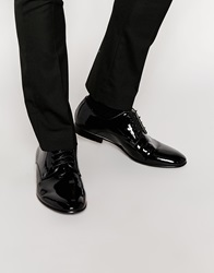 Standard Fortyfive Patent Leather Tassel Dress Shoes Black