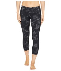 Columbia Brooklyn Bay Capri Pants Black Print Women's Capri Multi