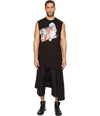 Dbyd Collage Printed Sleeveless T Shirt Black Men's Sleeveless