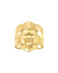 Chanel Lion Arty Ring In 18K Yellow Gold