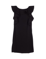 Mangano Short Dresses Black