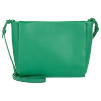 Jaeger Icon Leather Across Body Bag Green