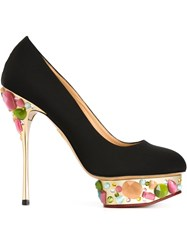 Charlotte Olympia 'Dolly' Pumps Black