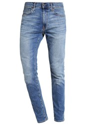 Abercrombie And Fitch Slim Fit Jeans Med Wash Destroyed Denim