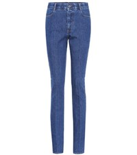 Stella Mccartney High Waisted Jeans Blue