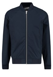 Minimum Starego Bomber Jacket Navy Dark Blue