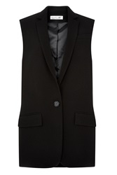 Damsel In A Dress Taylor Sleeveless Jacket Black