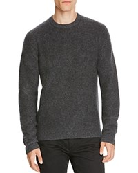 Vince Boiled Cashmere Sweater H Carbon