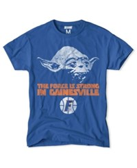 Tailgate Clothing Men's Florida Gators Yoda Force Is Strong T Shirt