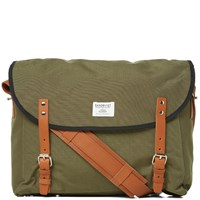 Sandqvist Erik Messenger Bag Green