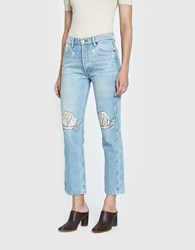 Bliss And Mischief Song Of The West Denim Ivory