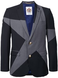 Education From Youngmachines Star Print Blazer Grey