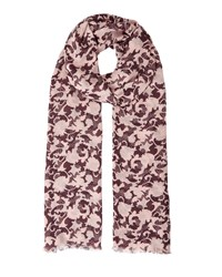 Jigsaw Salcombe Floral Modal Scarf Pink