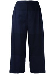 Stephan Schneider Cropped Pants Blue