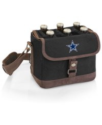Picnic Time Dallas Cowboys Beer Caddy Black Brown