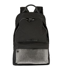 Mcq By Alexander Mcqueen Stud Embellished Logo Backpack Unisex Black