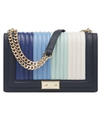 Nine West Inaya Shoulder Bag French Navy Multi