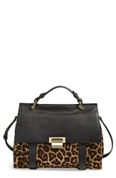 Ivanka Trump 'Turnberry' Genuine Calf Hair And Leather Satchel