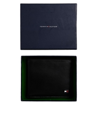 Tommy Hilfiger Eton Mini Billfold Wallet Black
