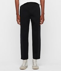 Allsaints Hayford Cropped Tapered Sweatpants Black