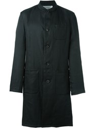 Individual Sentiments Woven Work Coat Black