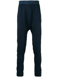 Les Benjamins Yekeo Sweatpants Cotton S Blue