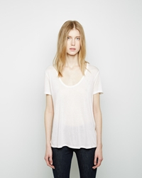 The Row Sabeen Top White
