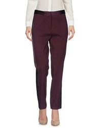 Versace Casual Pants Deep Purple