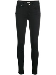 Liu Jo Skinny Fit Trousers Black