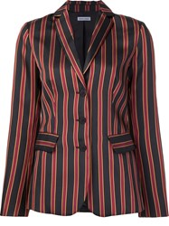 Tomas Maier Striped Blazer Black