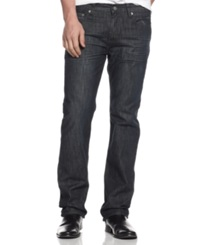 Alfani Black Jeans Walker Straight Leg Jeans
