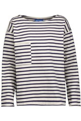 Mih Jeans M.I.H Striped Cotton Top Off White