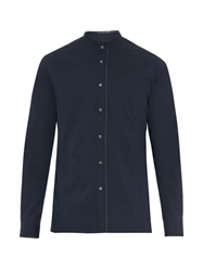 Wooyoungmi Granddad Collar Cotton Shirt