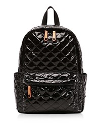 M Z Wallace Mz Metro Small Backpack Black Lacquer