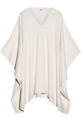 Adam By Adam Lippes Oversized Merino Wool Poncho White