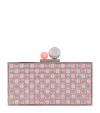 Sophia Webster Clara Candy Box Clutch Female Pink