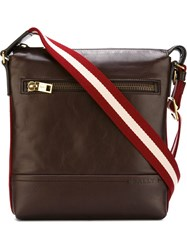 Bally 'Trezzini' Shoulder Bag Brown