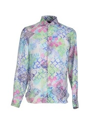Mosaique Shirts Light Green